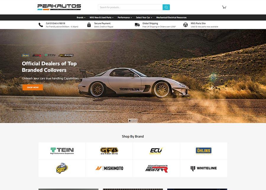 EKM Automotive Store Example