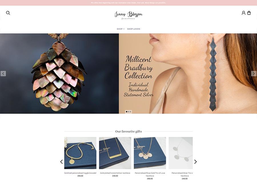 EKM Jewellery Store Example