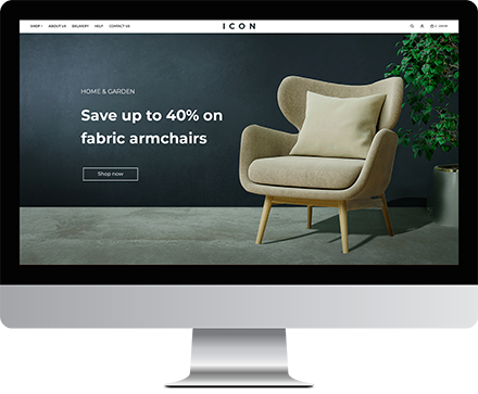 Custom Online Shop Design Service